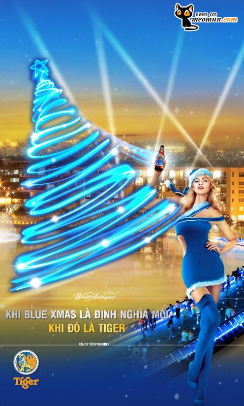 Giáng Sinh Xanh - Hồ Bán Nguyệt, Phú Mỹ Hưng, Quận 7